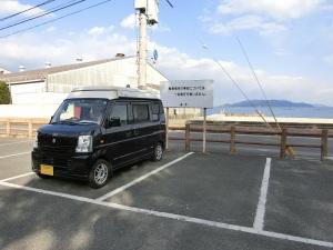 駐車場に駐めた軽キャンKONG_20160206