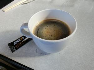 朝食のコーヒー_20160320