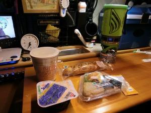 軽キャンで朝食_2_2160327