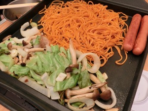 江草製麺の「唐麺」で焼そば_1_20160504