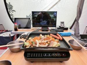 江草製麺の「唐麺」で焼そば_3_20160504