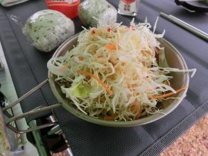 朝食の野菜サラダ_20160529