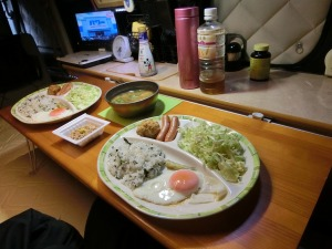 軽キャンで朝食_2_20160605