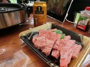 牛肉とゴールデンエール_20160605
