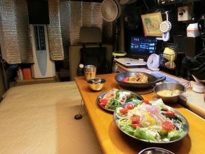 軽キャンで夕食_2_20160611