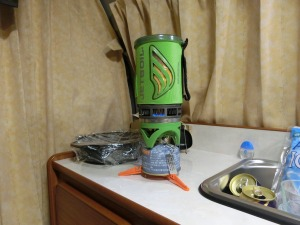 ジェットボイルでお湯を沸かす_20160904