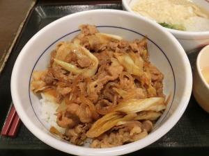 なか卯の和風牛丼_20160916