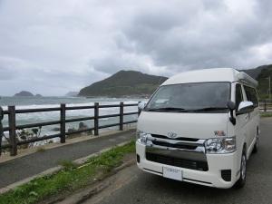 日本海とキャンカーWalk2_20160920