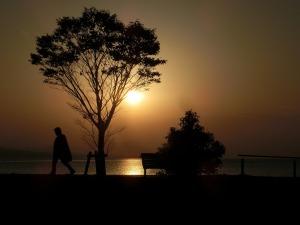 宍道湖の夕日_20161112