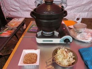 土鍋でご飯を炊く_20161121