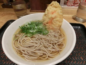駅麺家の天ぷらそば_370円_20161122