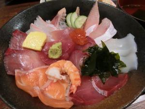 海鮮いづつの海鮮丼_20161123