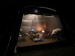 夜のスクリーンタープ_20161203