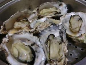殻付き蒸し牡蠣_20170120
