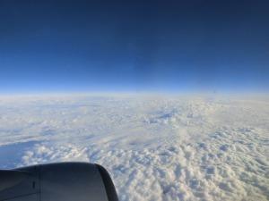 飛行機からの雲海_20161209
