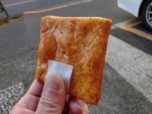 菊見せんべい総本店の醤油せんべい55円_20161210