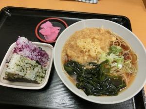 富士そばの朝食セット_20161211