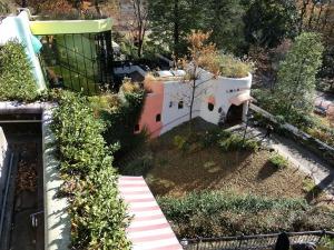 三鷹の森ジブリ美術館の屋上から_20161211
