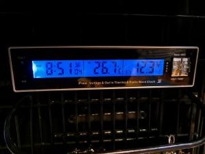 車内温度は26.7度_20161223
