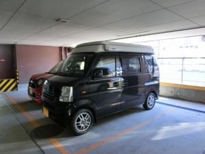 高さ制限のある駐車場に軽キャン_20161225