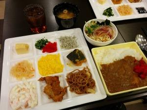 アーバイン広島セントラルで朝食バイキング_20161230