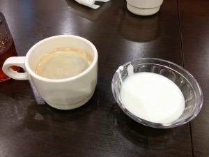 コーヒーとヨーグルト_20161230