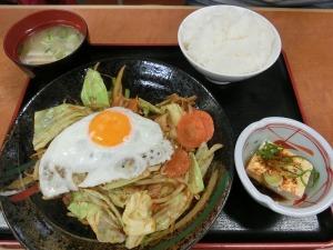 野菜炒め定食_730円_20170108