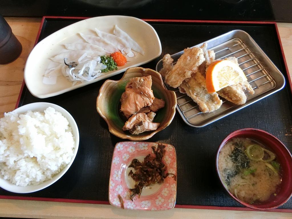 ふく刺身定食(とらふく)_1580円_20140128