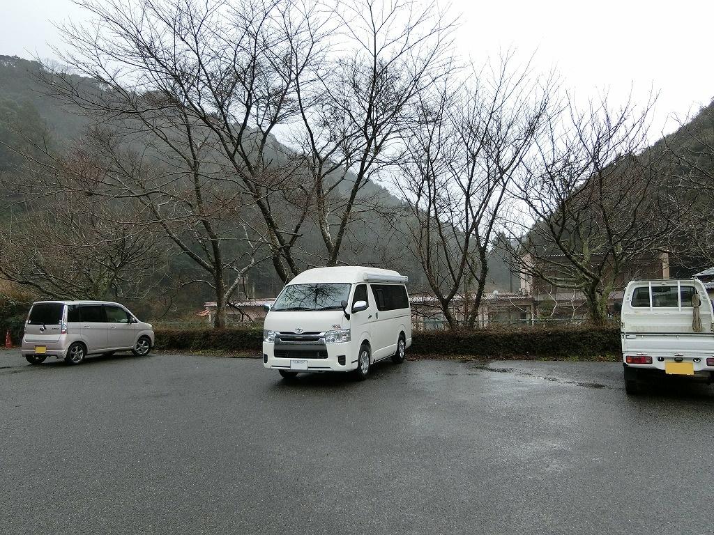 一の俣温泉荘の駐車場_1_20170129