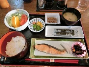 野呂高原ロッジの朝食_20170226