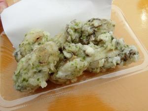 牡蠣の磯辺風天ぷら_20170226