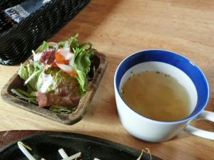 サラダとスープ_20170304