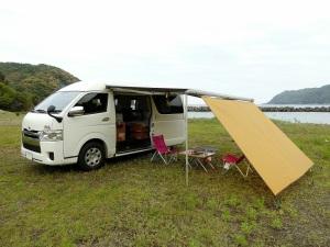 無料キャンプ場で車中泊キャンプ_1_20170505r