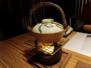 茶漬け用のダシを温める_20170312
