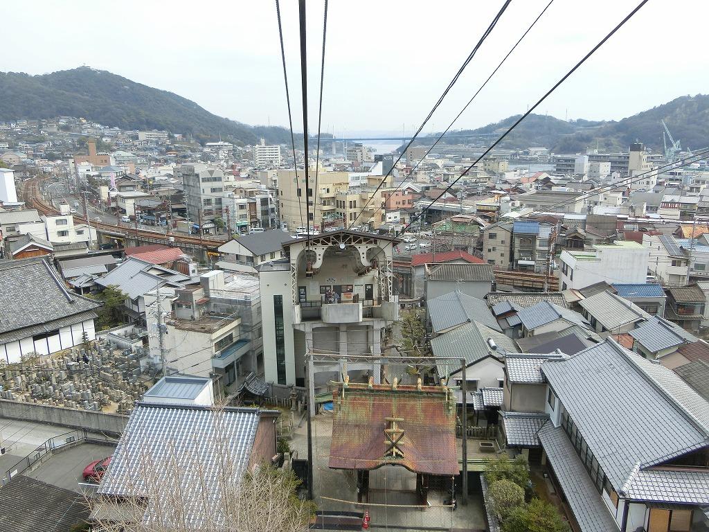 千光寺山ロープウェイからの景色_20170313