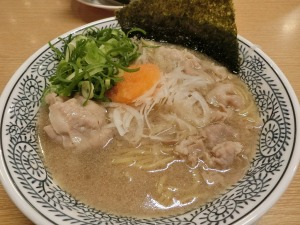 丸源ラーメン肉そば_20170317