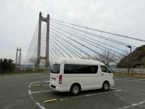 呼子大橋駐車場とWalk2_20170318