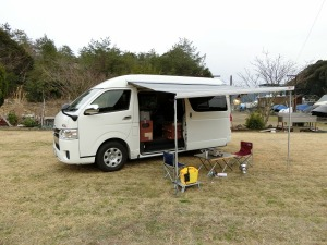 つばきマリーナキャンプ場にて_20170318