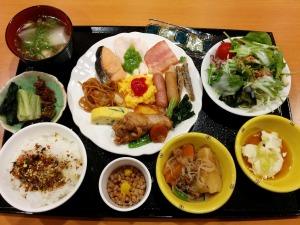 ホテル法華クラブ広島の朝食バイキング_20170416