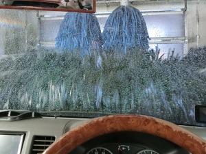 軽キャン洗車機へ_20170520