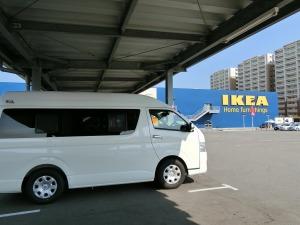 IKEAにに駐車_20170617
