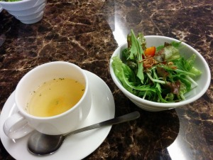 サラダとスープ_20170717