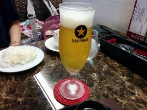 無料サービスのビール_20170717