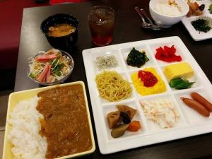 アーバイン広島セントラルの朝食バイキング_20170718